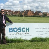 Deric at Rugby BGA Sign